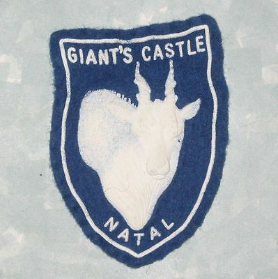 """Giant's Castle Natal Patch - South Africa - 2"""" x 2 3/4"""""""