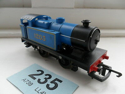 Hornby OO Gauge Tank Engine (blue) run no 1203 unboxed