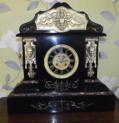 1890s French Clock very large Stunning condition only £99.00 fully serviced 32kl