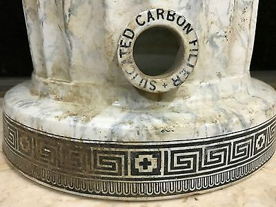 DAHLKE'S ANTIQUE SILICATED CARBON WATER FILTER 19c MEDICAL SCIENCE MUSEUM RARE