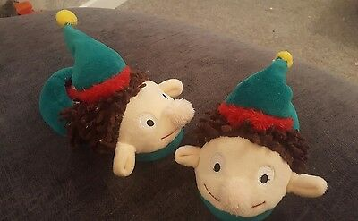 Christmas elf slippers toddler size 6/7