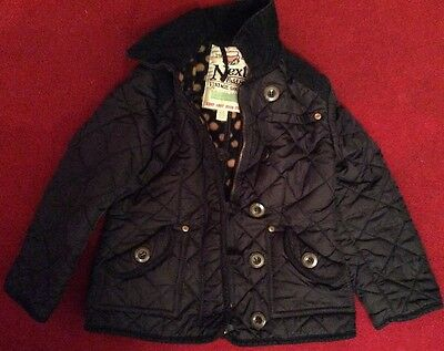 Next Child's Lined Warm Jacket 5-6 Years