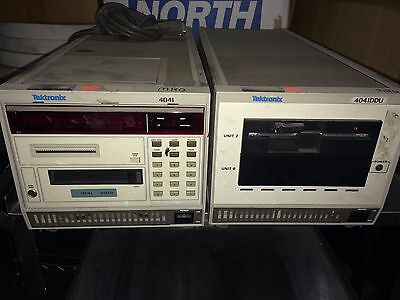 Tektronix 4041 System Controller And Disk Module