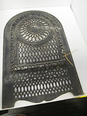 Antique Iron  Heater Stove Cover