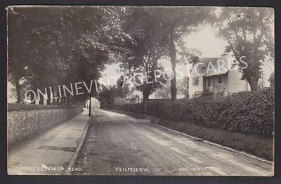 Cheshire Macclesfield Road Wilmslow Super Real Photo