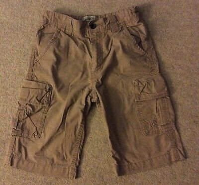 Boys M&S Cargo Shorts Age 9-10