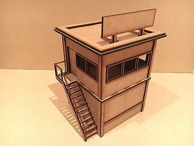 1/32 Scale Building Race Stewards Hut For Scalextric Or Magnetic Racing