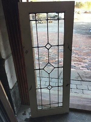 Sg 944 Antique Beveled Center Sidelight Or Transom Window