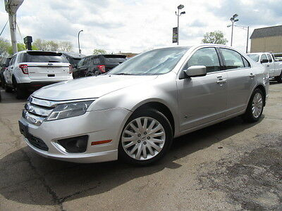 2010 Ford Fusion Hybrid Sedan 4-Door ilver Hybrid 4WD Only 11k Miles Ex Federal Government Administration Nice