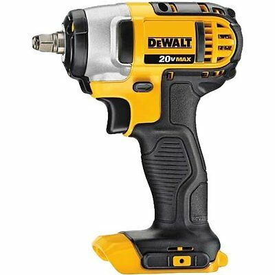 Dewalt 20v Max Lithium Ion 3/8-inch Impact Wrench With Hog Ring (tool Only)