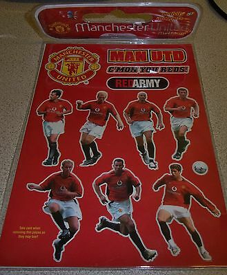 Vintage Manchester United collection of small magnet figures