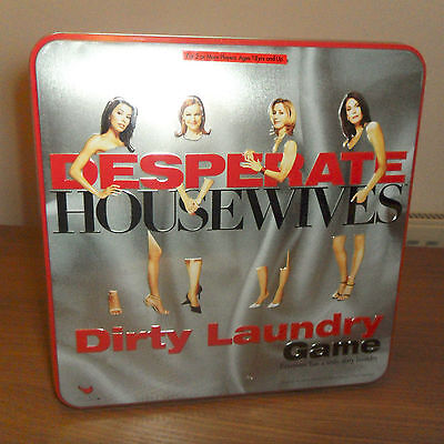 Desperate Housewives - Dirty Laundry Game - Tin Boxed - New And Sealed