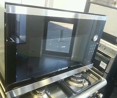 Bosch HMT75M654B Built-In Microwave Oven Stainless Steel