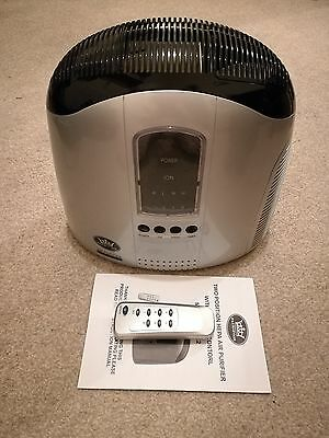 HEPA Air Purifier - Two Position with Remote Control ALLERGEN REMOVER
