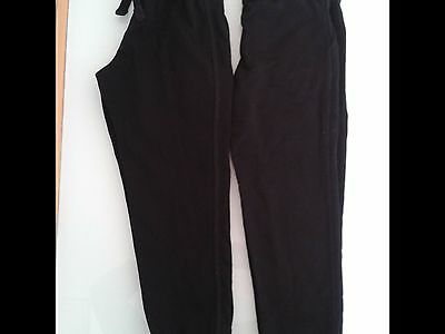 black joggins, tracksuit trousers M&S 4-5yrs, 110cm & George 5-6yrs, 110-116
