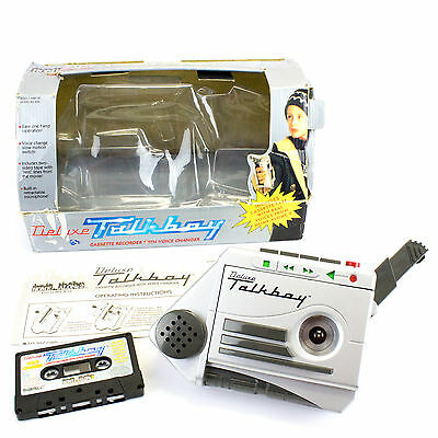 Vintage 1993 Home Alone 2 Deluxe Talkboy by Tiger, Cassette Recorder, Boxed