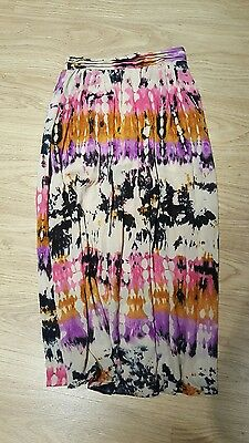 Girls tye dye maxi skirt. Age 10-11