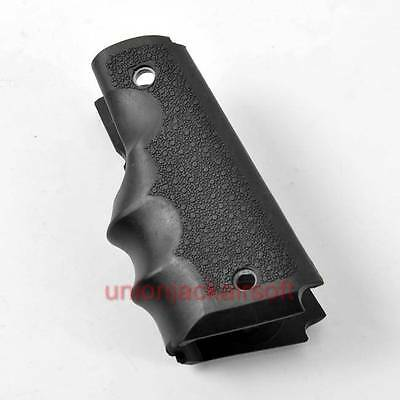 1911 Rubber Wrap Around Pistol Grip Black