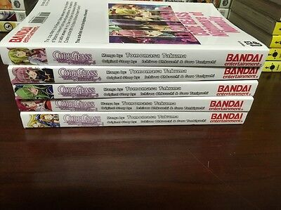 Code Geass: Nightmare Of Nunnally Manga Volumes 1-5