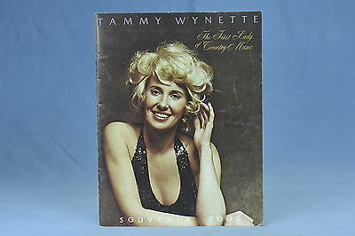 Vintage 1978 TAMMY WYNETTE SOUVENIR BOOK FIRST LADY OF COUNTRY MUSIC