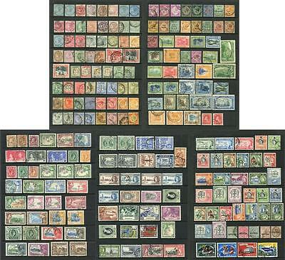 Jamaica. Selection of Mostly Used Stamps.