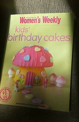 Cookbook The Australian Women's Weekly -  Kids' Birthday Cakes