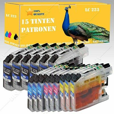 1-20 Ink cartridges compatible with Brother LC223 MFC-J 1100 Series / 1140 W