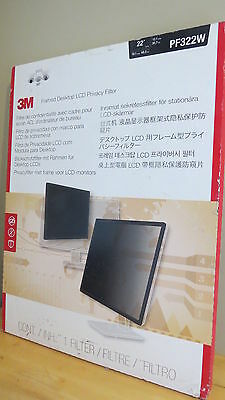"3M™ Framed Privacy Filter for 22"" Widescreen Monitor (16:10) PF322W"