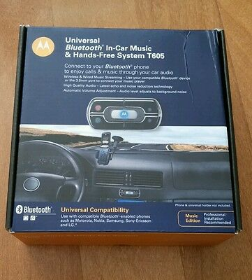 Universal Bluetooth In-car Music and Hands-free system