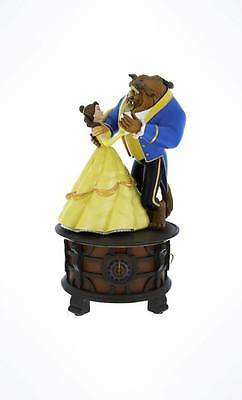 """Disney Parks Beauty and the Beast Music Box Figurine """"Tale As Old As Time"""""""