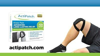ActiPatch Knee Pain Relief Device Electromagnetic Pulse Therapy