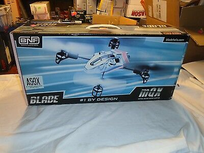 MQX Blade AS3X BNF drone new in box copter