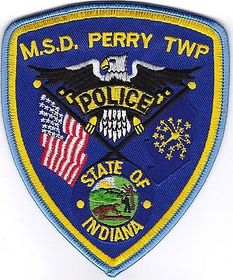 M.S.D. Perry TWP Police Indiana patch NEW