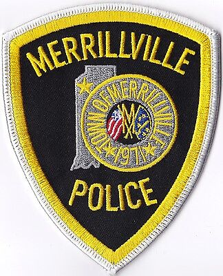 Merrillville Police Indiana patch NEW