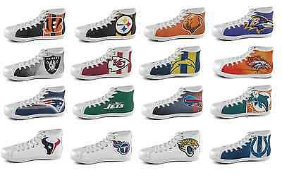 NFL High Top Shoes ALL TEAMS