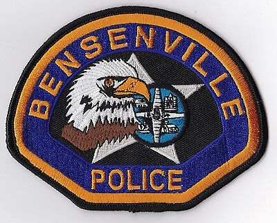 Bensenville Police Patch Illinois IL NEW!!