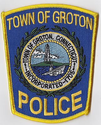 Town of Groton Police Patch Connecticut CT NEW !!!