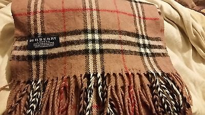 Burberry of London 100% Cashmere scarve