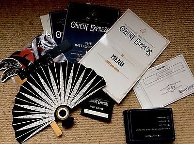 Dinner Aboard The British Pullman Orient Express - 1920s Dinner Party Kit Game