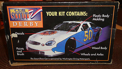 Cub Scout Pinewood Derby Stock Car Kit Special Edition 1998