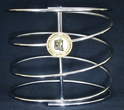 HONEYBAKED HAM COMPANY Metal Spiral Holder Carving Stand - Christmas Dinner HTF