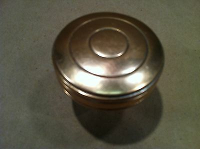 A nice Victorian Eastlake Solid  Bronze Drum ENTRY sized Knob