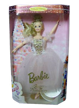 """""""Barbie"""" As The Sugar Plum Fairy In The Nutcracker Collector Edition Doll - New"""