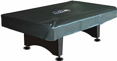 NFL Seattle Seahawks 8 ft  Fitted Leatherette Pool Table Cover w/ FREE Shipping