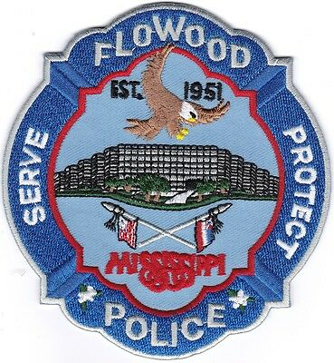 Flowood Police Mississippi patch NEW