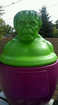 Marvel's incredible hulk toy chest 1978 rare  ,clean Spiderman , wolverine ,