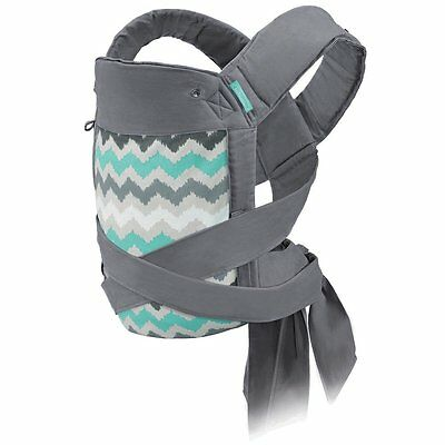 New..Infantino Sash Mei Tai 3 Carrying Position Baby Carrier Wrap Sling, Ikat