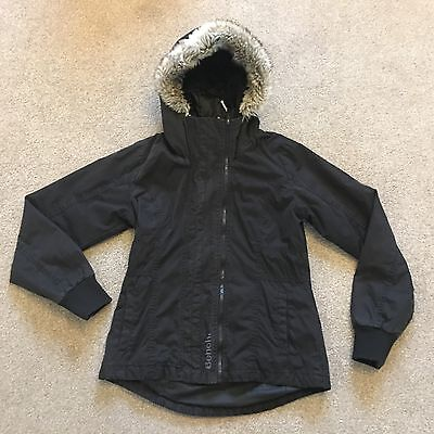 **Girls Lovely Double Zipped Warm BENCH Coat Size L (?age 12)**