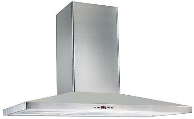 SALE Genoa Range Hood 90cm/900mm – Electronic Button Control Stainless Steel