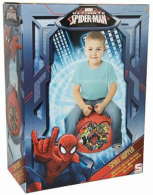 Sambro Marvel Ultimate Spiderman Inflatable Space Hopper Childs Toy Ages 3+
